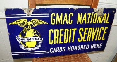 $OLD GMAC Credit Service DSP sign