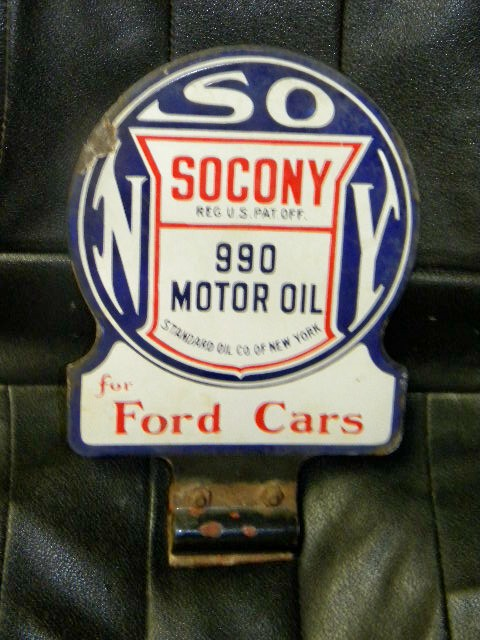 "$OLD Socony ""For Fords"" DSP"