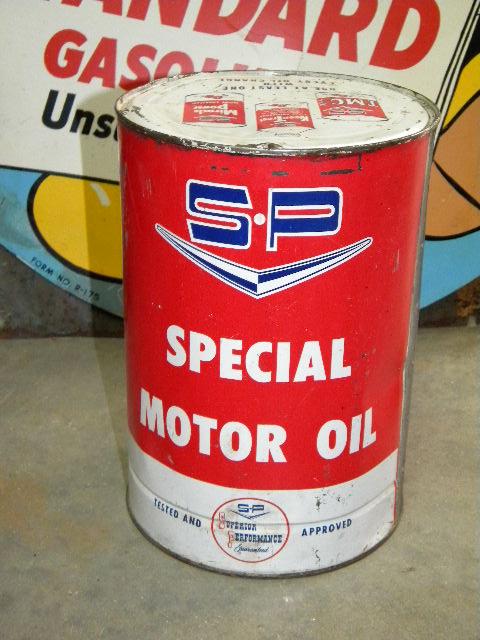 Photo old studebaker packard 5 quart motor oil can for 5 quart motor oil