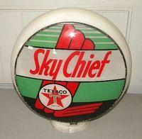 $OLD Texaco Sky Chief Globe on Gill