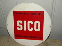 $OLD Sico Pump Sign
