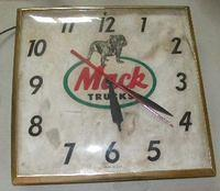 $OLD Mack Trucks Clock Original