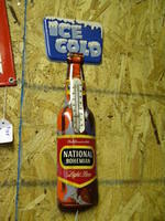 $OLD National Bohemian Tin Thermometer
