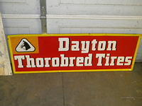 $OLD Dayton Tires Sign