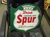 $OLD Spur Soda Pop Flange